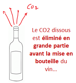 gaz carbonique vin
